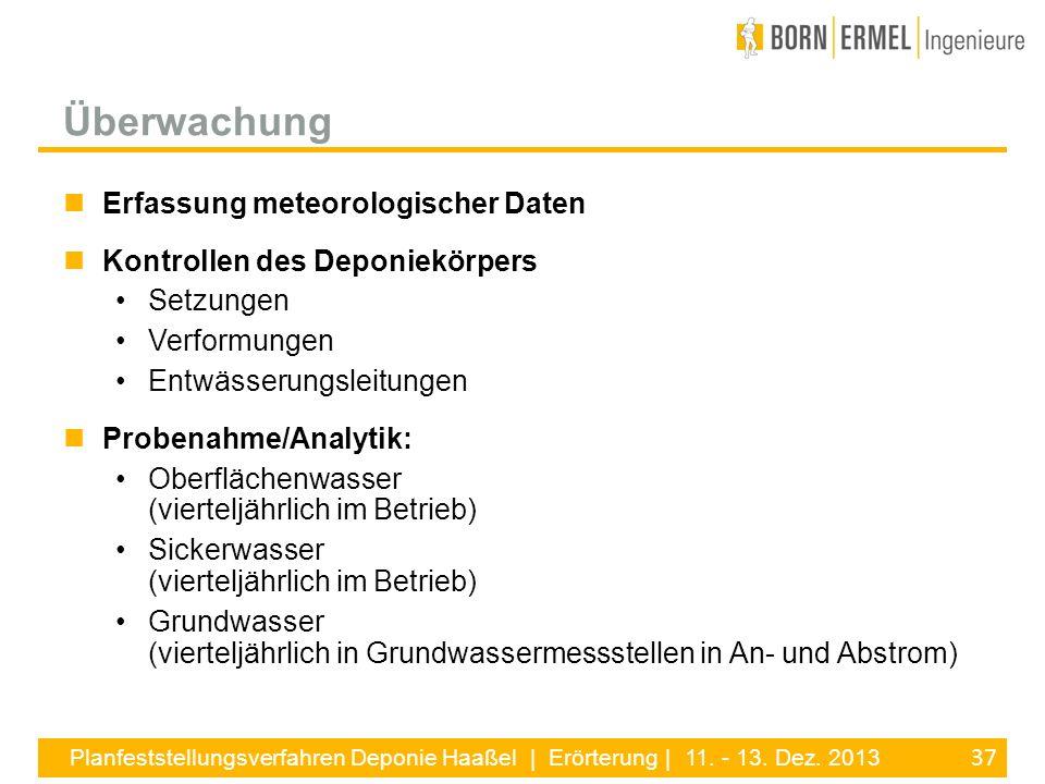 Überwachung Erfassung meteorologischer Daten