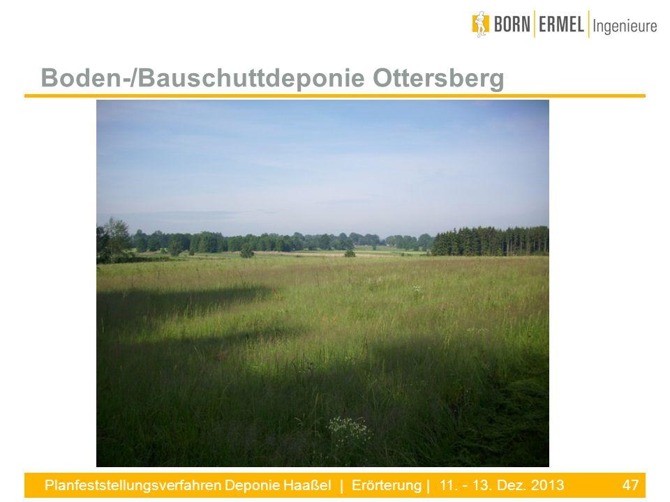 Boden-/Bauschuttdeponie Ottersberg