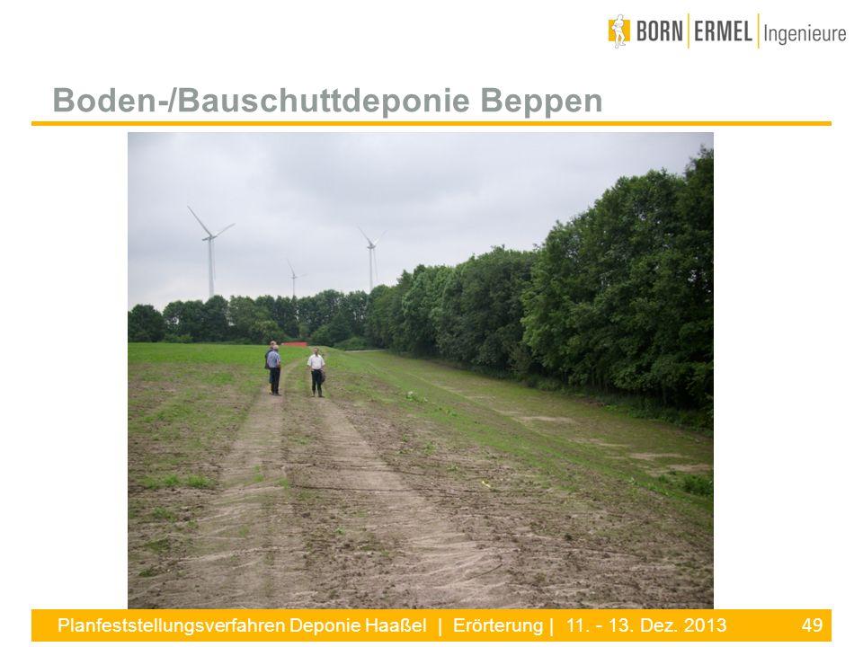 Boden-/Bauschuttdeponie Beppen