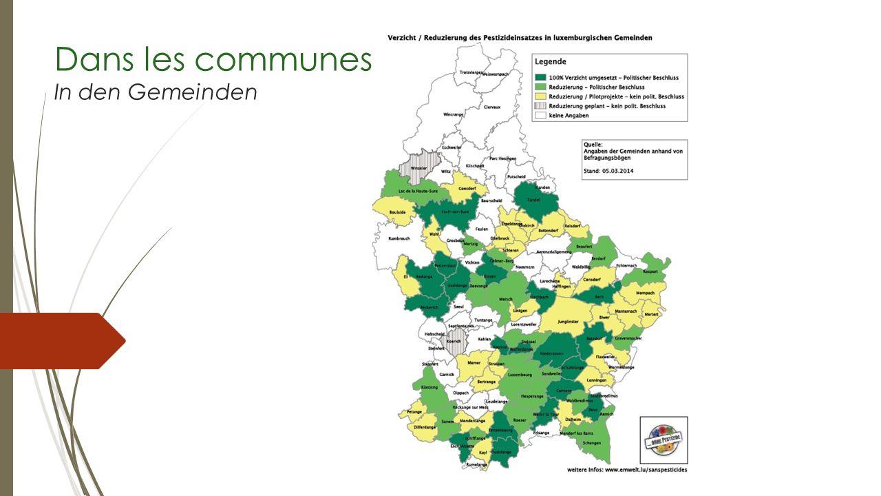 Dans les communes In den Gemeinden
