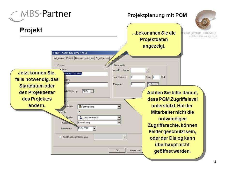 Achten Sie bitte darauf, dass PQM Zugriffslevel Zugriffsrechte, können