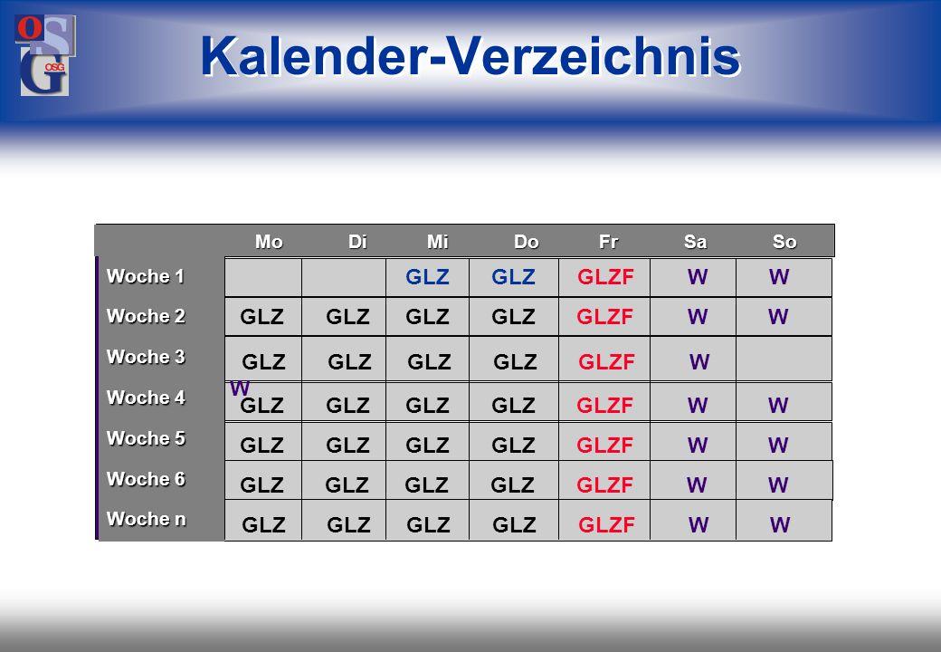 Kalender-Verzeichnis