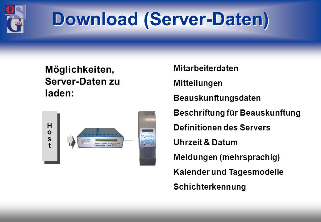 Download (Server-Daten)