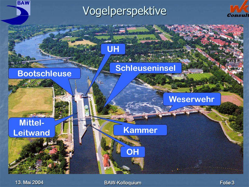 Vogelperspektive UH Schleuseninsel Bootschleuse Weserwehr