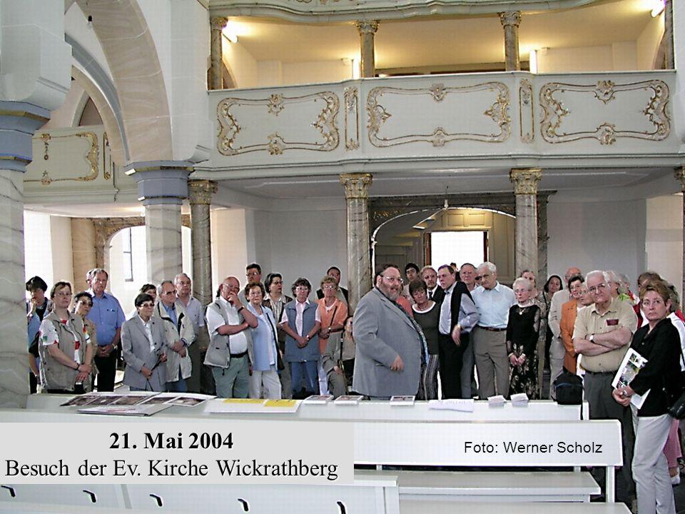Besuch der Ev. Kirche Wickrathberg