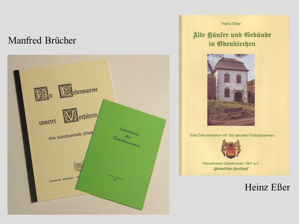 Manfred Brücher Heinz Eßer