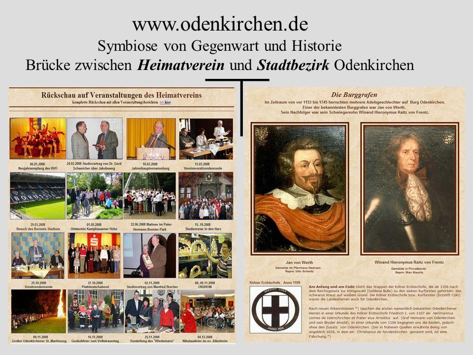 — www.odenkirchen.de Symbiose von Gegenwart und Historie