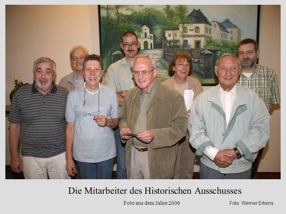 Die Mitarbeiter des Historischen Ausschusses