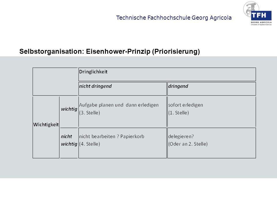 Selbstorganisation: Eisenhower-Prinzip (Priorisierung)