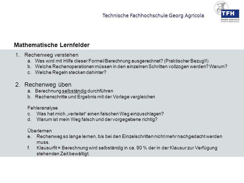 Mathematische Lernfelder