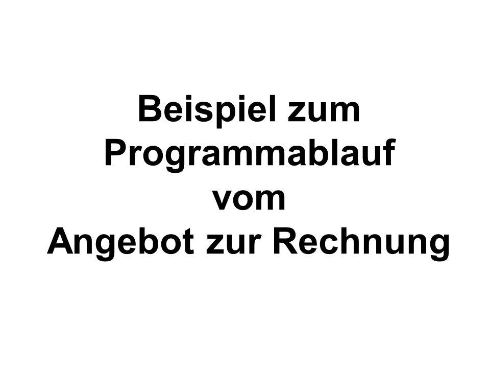 Beispiel zum Programmablauf