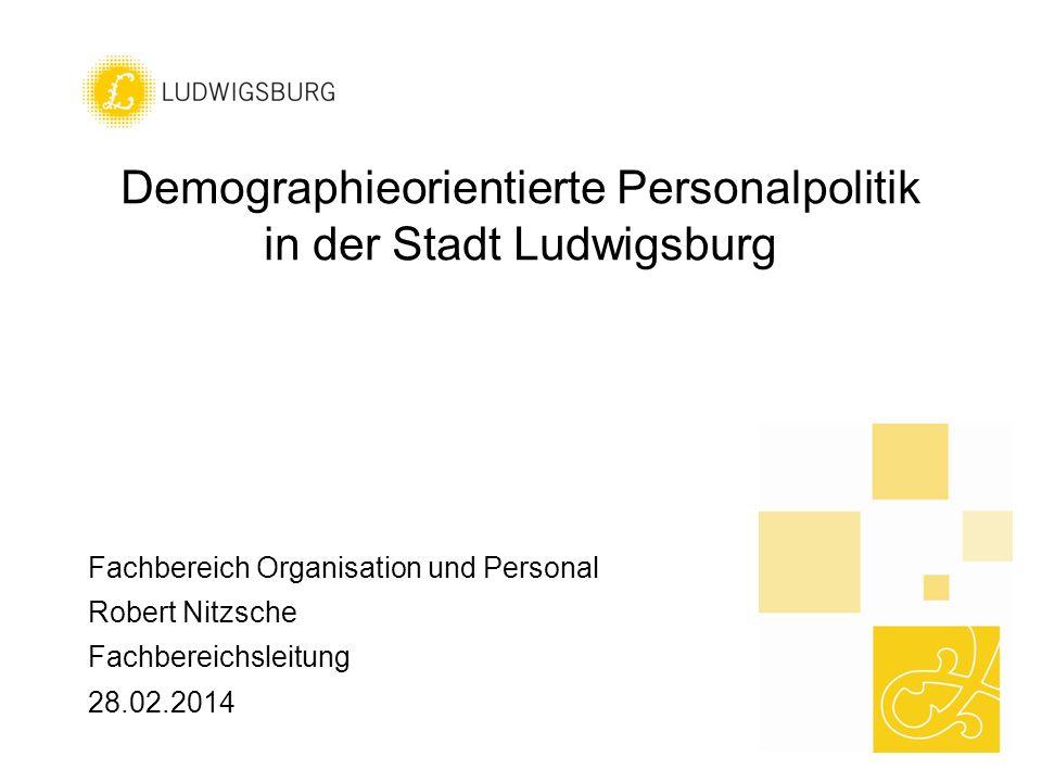 Demographieorientierte Personalpolitik in der Stadt Ludwigsburg