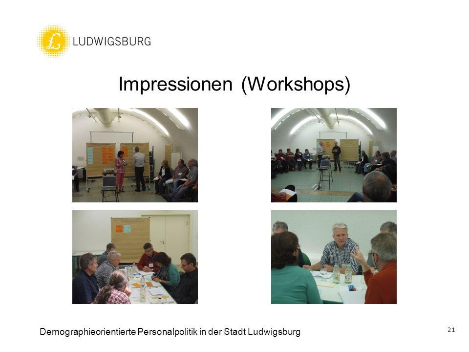 Impressionen (Workshops)