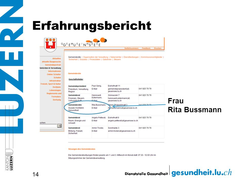 Erfahrungsbericht Frau Rita Bussmann