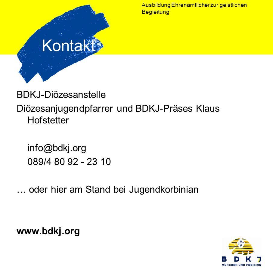 Kontakt BDKJ-Diözesanstelle