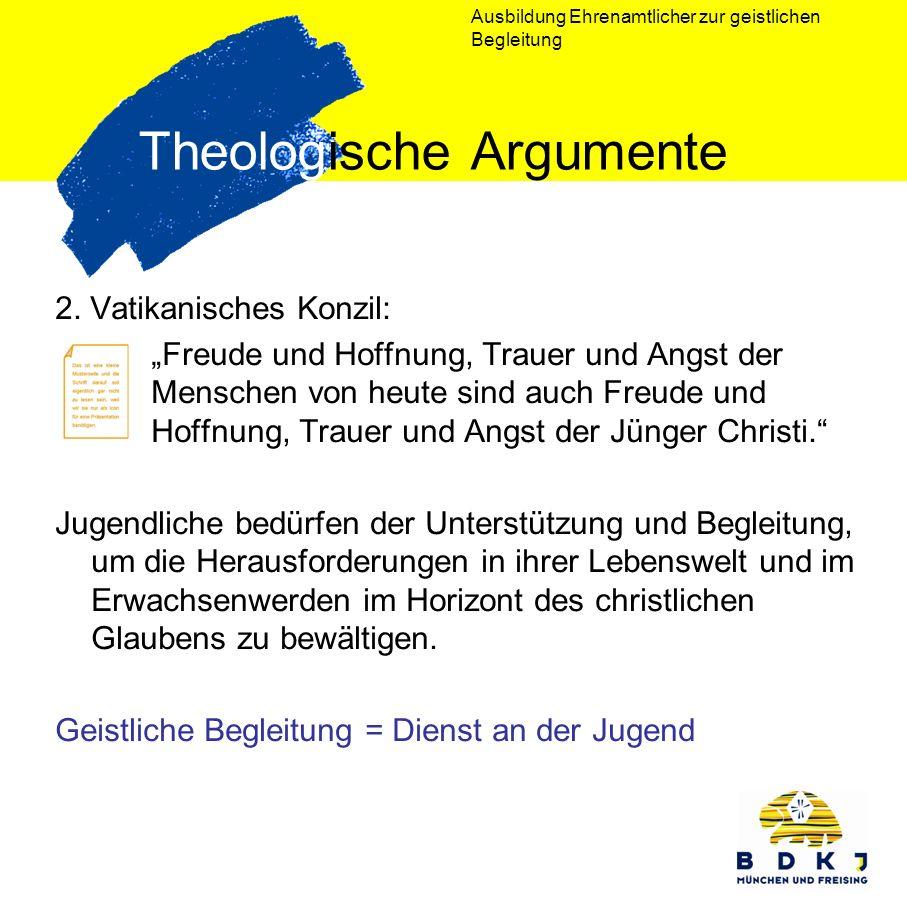 Theologische Argumente