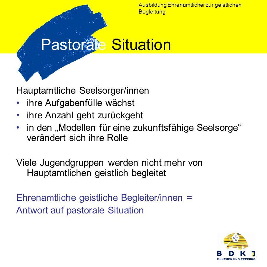 Pastorale Situation Hauptamtliche Seelsorger/innen