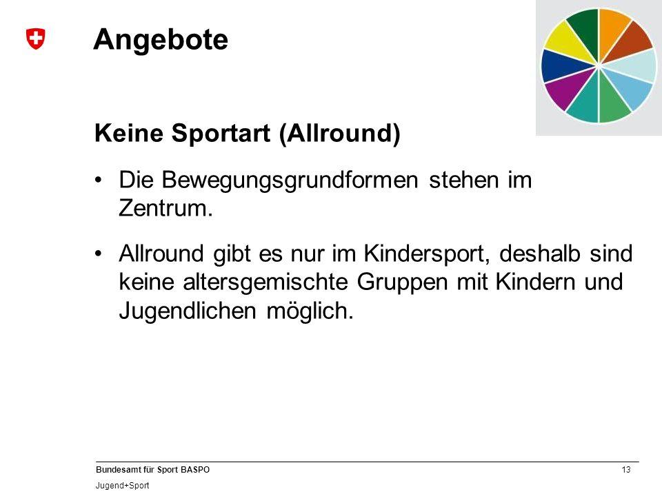 Angebote Keine Sportart (Allround)