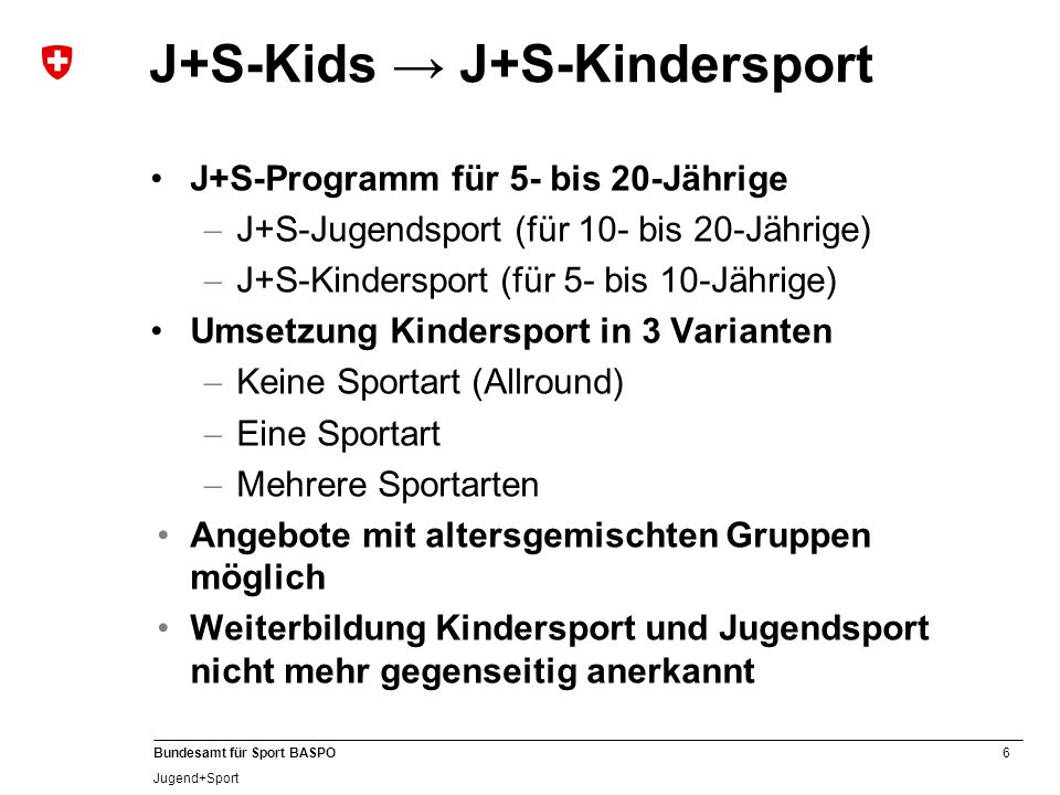 J+S-Kids → J+S-Kindersport
