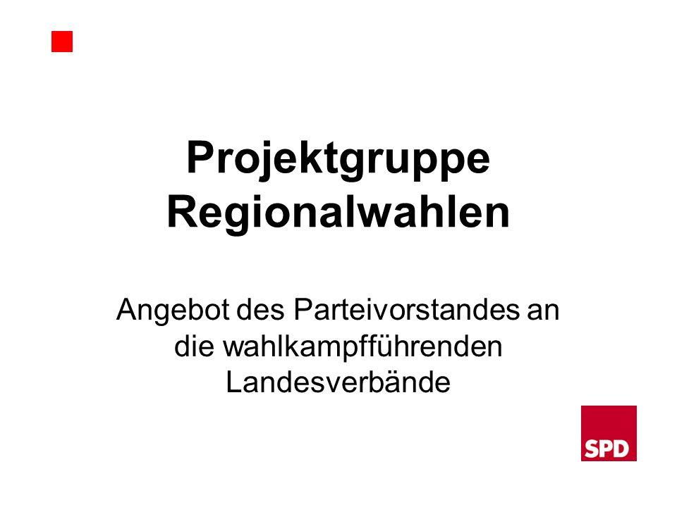 Projektgruppe Regionalwahlen