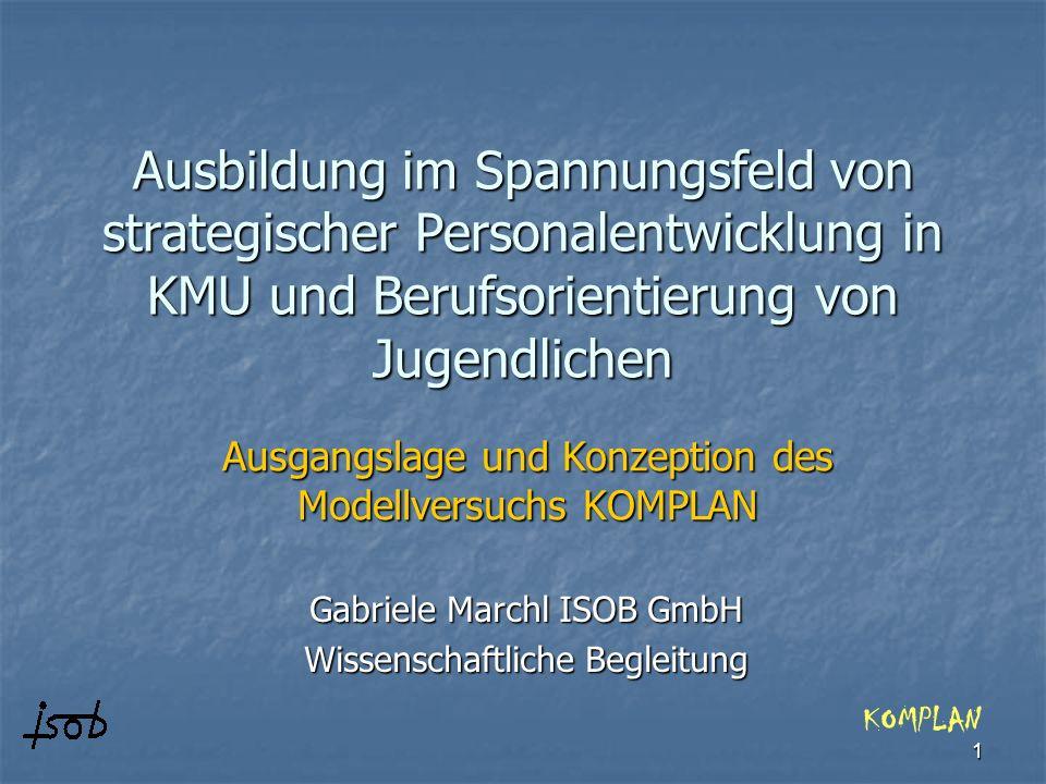 Gabriele Marchl ISOB GmbH Wissenschaftliche Begleitung
