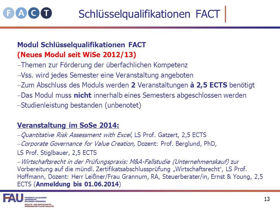 Schlüsselqualifikationen FACT