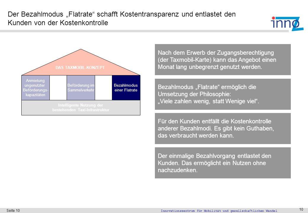 Das Produkt von Taxmobil ist die Taxmobil-Karte