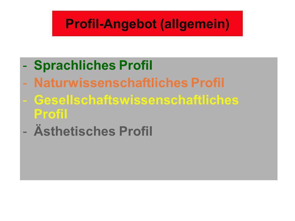 Profil-Angebot (allgemein)