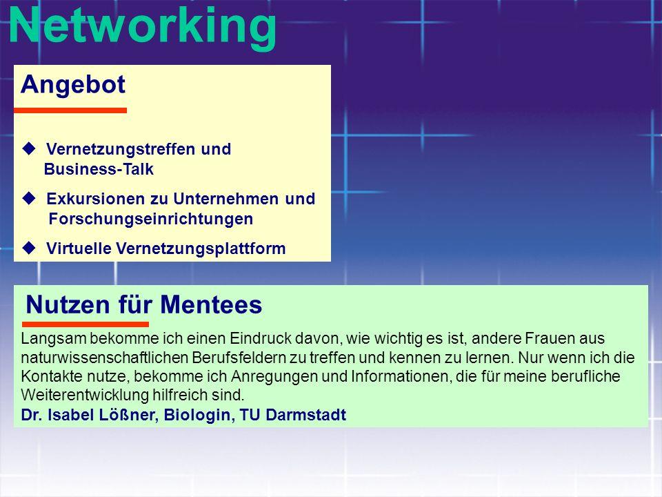 Networking Angebot Vernetzungstreffen und Business-Talk