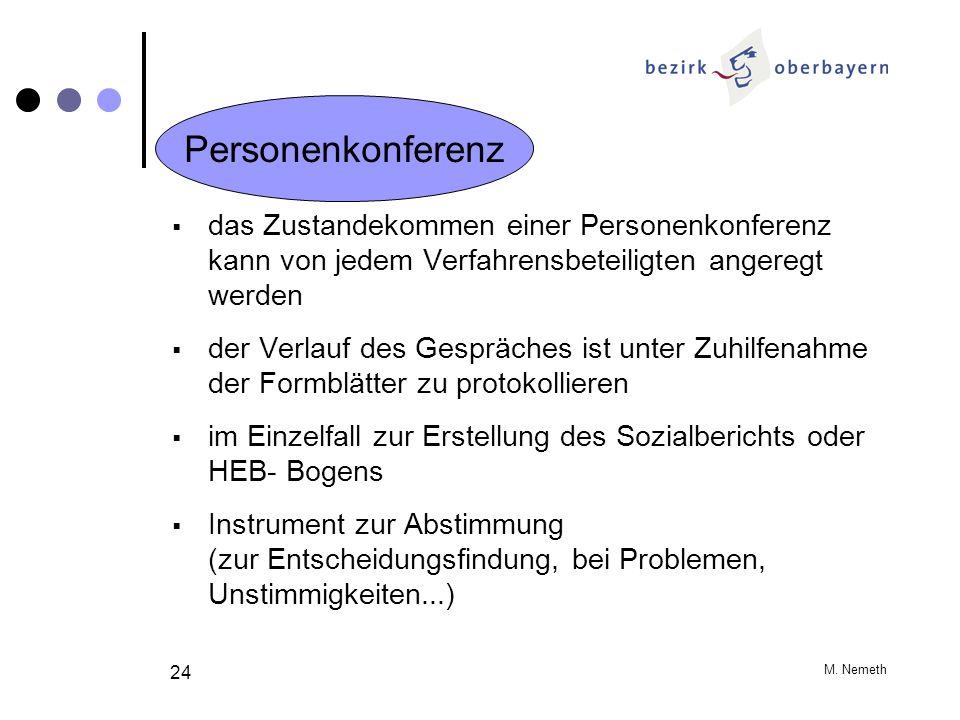 Personenkonferenz das Zustandekommen einer Personenkonferenz kann von jedem Verfahrensbeteiligten angeregt werden.