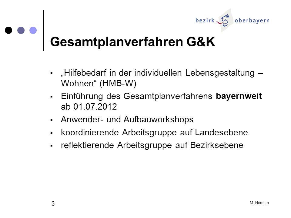Gesamtplanverfahren G&K