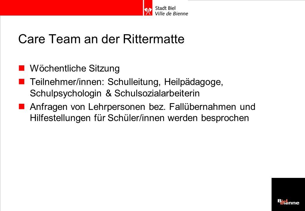 Care Team an der Rittermatte