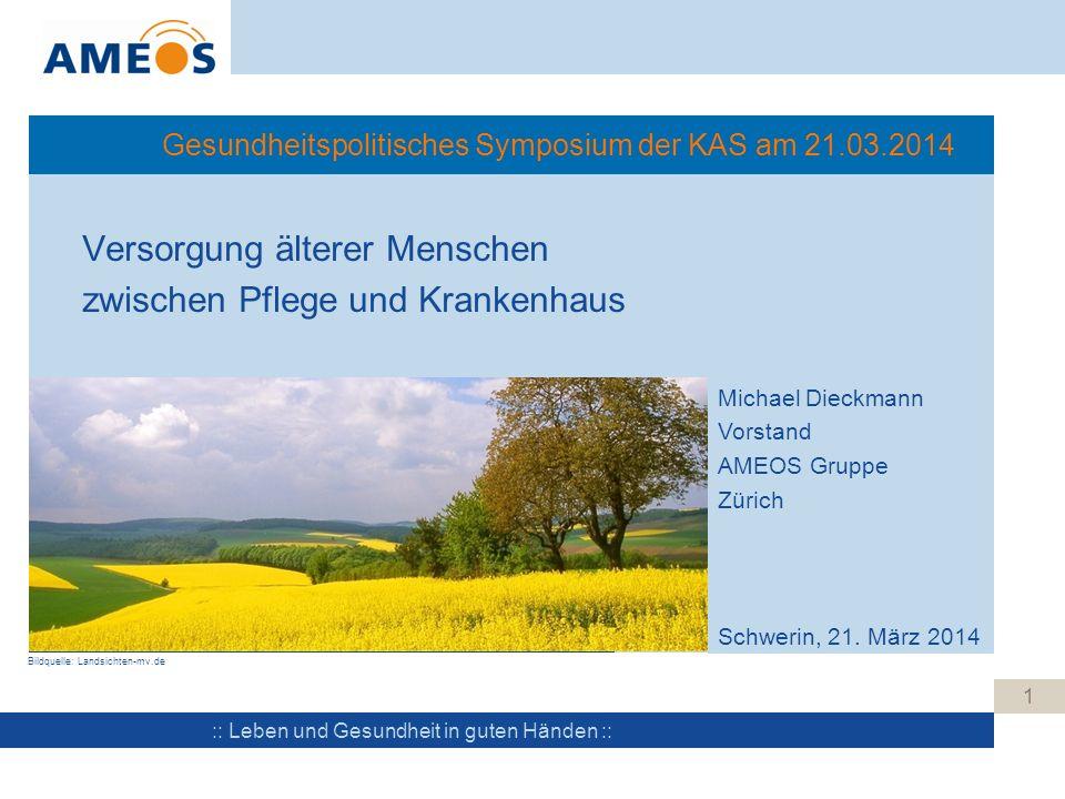 Gesundheitspolitisches Symposium der KAS am 21.03.2014