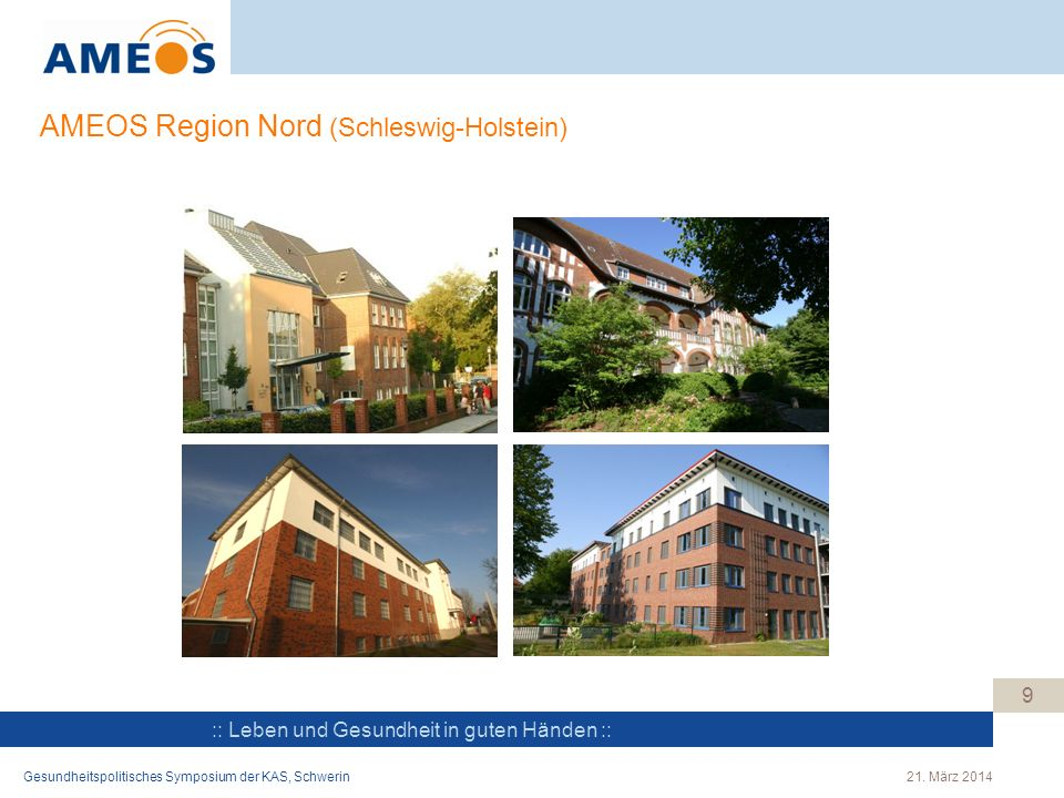 AMEOS Region Nord (Schleswig-Holstein)