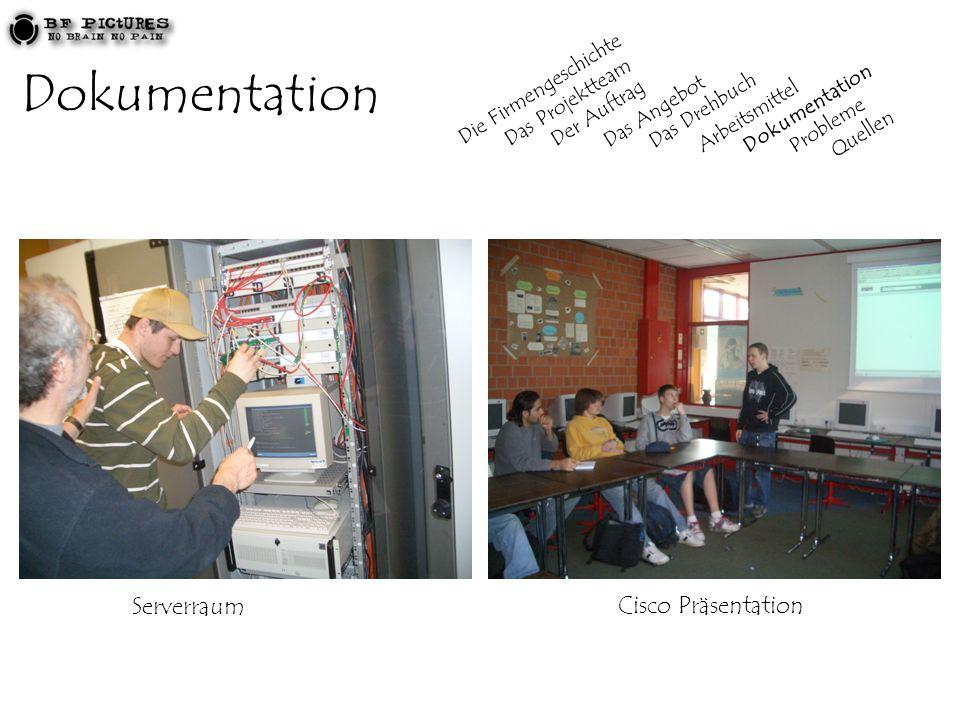 Dokumentation Serverraum Cisco Präsentation Die Firmengeschichte