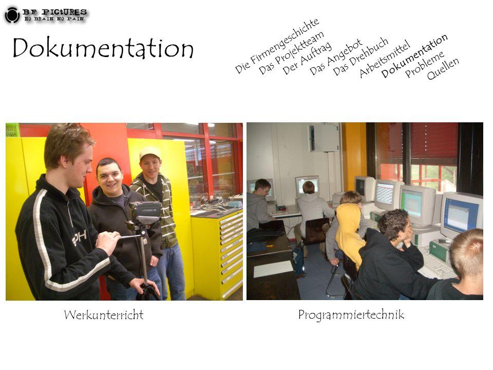 Dokumentation Werkunterricht Programmiertechnik Die Firmengeschichte