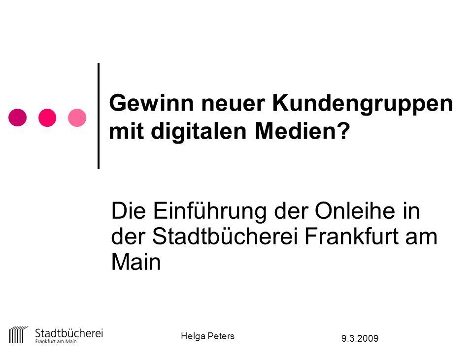 Gewinn neuer Kundengruppen mit digitalen Medien