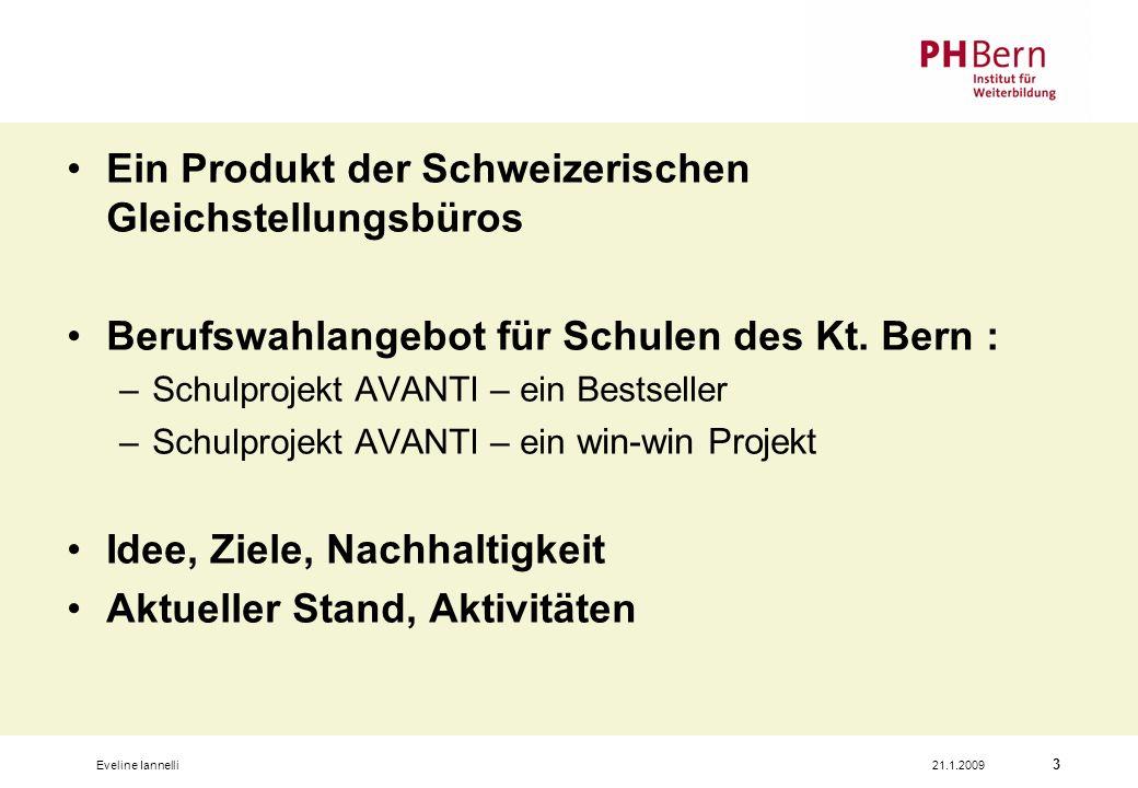 Ein Produkt der Schweizerischen Gleichstellungsbüros