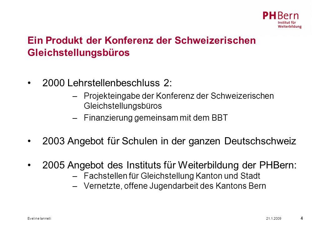Ein Produkt der Konferenz der Schweizerischen Gleichstellungsbüros