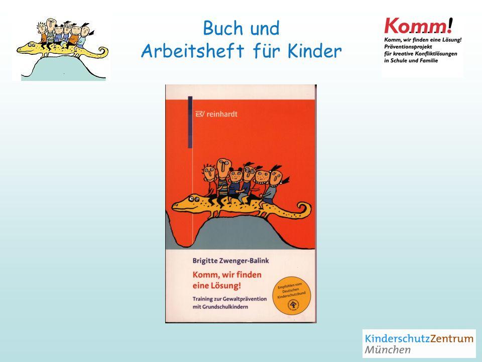 Buch und Arbeitsheft für Kinder