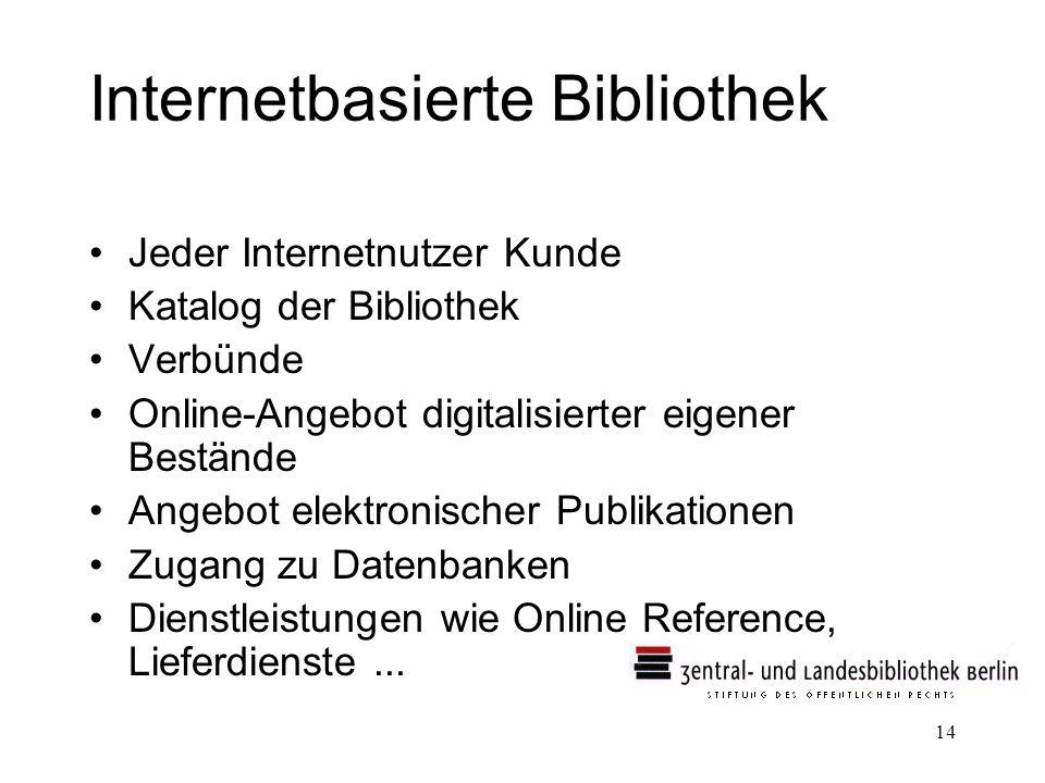 Internetbasierte Bibliothek