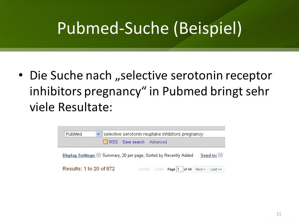 Pubmed-Suche (Beispiel)