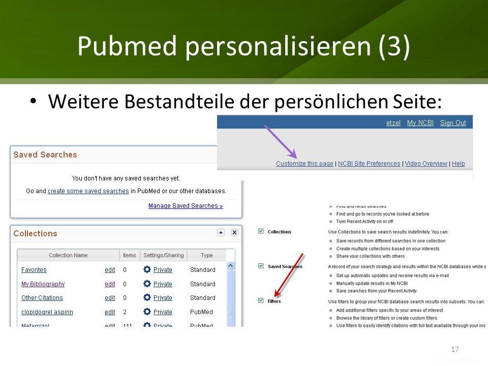 Pubmed personalisieren (3)