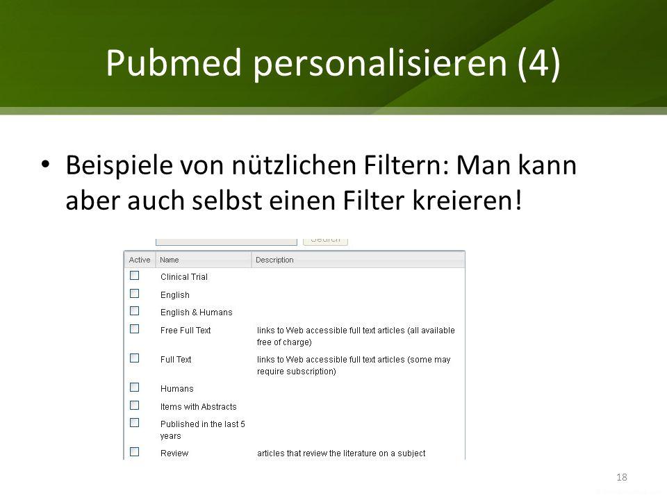 Pubmed personalisieren (4)