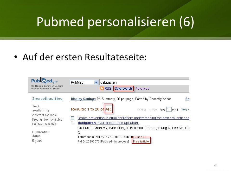 Pubmed personalisieren (6)