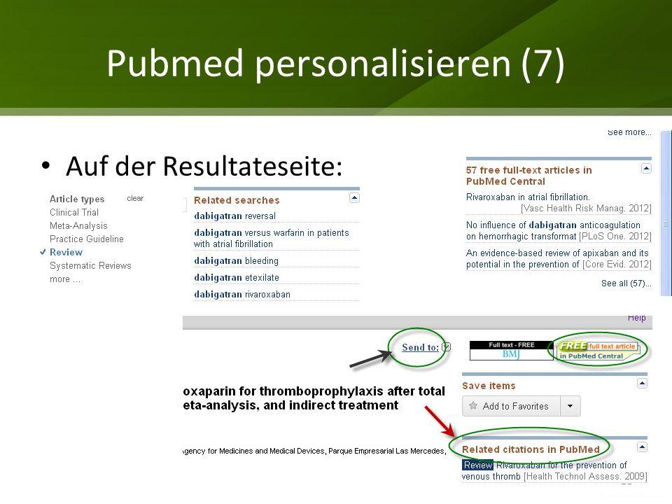 Pubmed personalisieren (7)