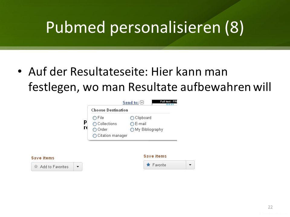 Pubmed personalisieren (8)