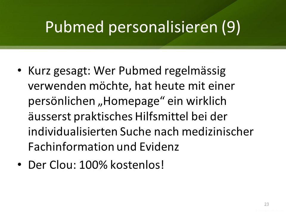 Pubmed personalisieren (9)