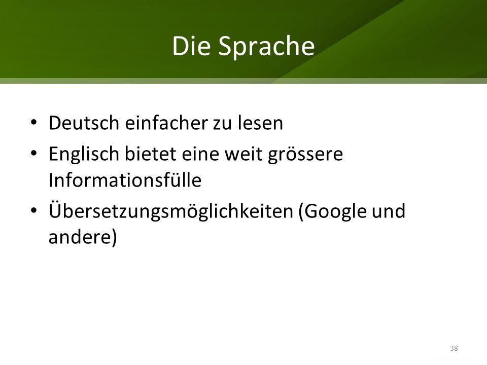 Die Sprache Deutsch einfacher zu lesen