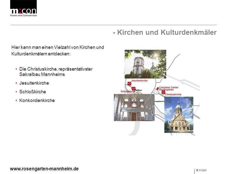 - Kirchen und Kulturdenkmäler